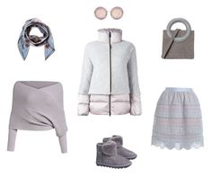 """""""Puffer jacket #puffers"""" by gershevicht on Polyvore featuring мода, Zimmermann, Overland Sheepskin Co., FAY, Opening Ceremony, Miu Miu и Valentino"""