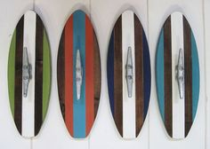 Surfboard Wall Hook by ProjectCottage on Etsy, $34.00