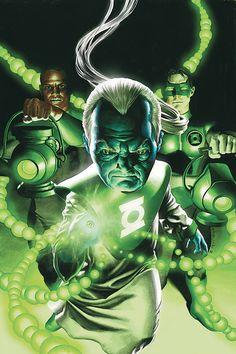 Green Lantern Corps by Rodolfo Migliari