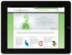 Biotech website design for Health Diagnostic Laboratory, Inc.—by Raison.