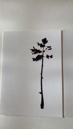 Moon Photos, Black Tree, A5, Screen Printing, Bloom, Instagram, Prints, Screen Printing Press, Silk Screen Printing
