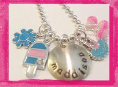 Ballet Necklace - Sweet Loving Dancer - Necklace for Girls