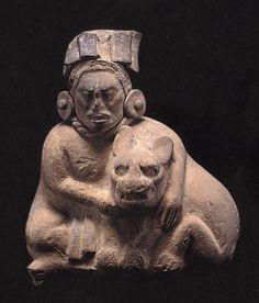 Maya Jaina Seated Figurines