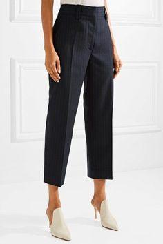 Acne Studios - Trea pinstriped wool-twill straight-leg pants 11984846421