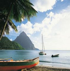 Caribbean and Central America port #StLucia