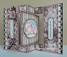 From My Craft Room: Baby Swing Card - Magnolia-licious Challenge # 8