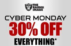 2012 Cyber Monday - Oakland Raiders
