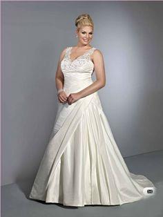 #Plus #Size #Wedding #Dress ,Fat Style #Bride Dress