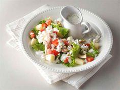 Kalasalaatti Caprese Salad, Cobb Salad, Diet Recipes, Keto, Skinny Recipes, Insalata Caprese, Healthy Diet Recipes