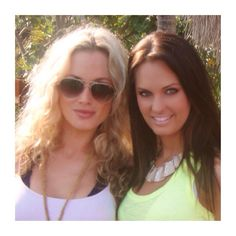 Reeva and friend