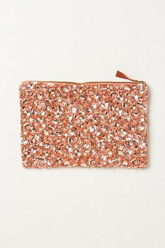 faceted infinity pouch at anthropologie
