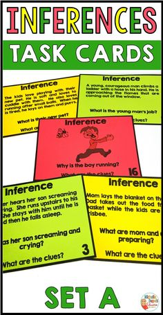 Making inferences - Reading between the lines can be very difficult for some students. Daily practice can help with developing these important skills. Students must use the clues from the text and their knowledge. Comprehension Strategies, Reading Comprehension, Inference Activities, Primary Classroom, Classroom Ideas, Making Inferences, Third Grade Reading, Authors Purpose, Common Core Reading