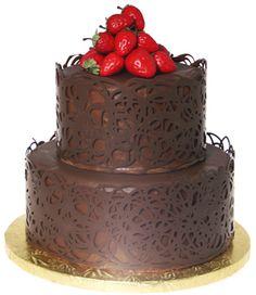 How to: Chocolate Wrap Cake