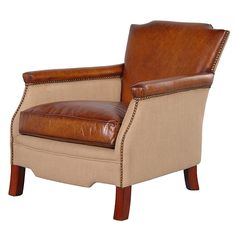 Daley Tan Leather Armchair http://www.la-maison-chic.co.uk/Item/Daley_Tan_Leather_Armchair