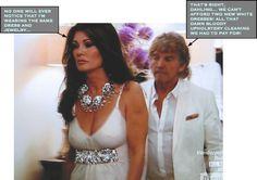 Lisa Vanderpump and Ken Todd... Lisa Re-Purposes Her White Dress