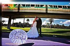 Walt Disney World Wedding: Amy + Kevin