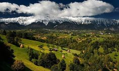 Romania Carpathian mountains Brasov Bran most beautiful scenery eastern europe Brasov Romania, Visit Romania, Carpathian Mountains, Bucharest, Eastern Europe, Dracula, Lonely Planet, Landscape Photos, Beautiful Landscapes