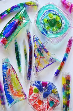 Melted Bottle Jewelery - art and science and lots of fun!