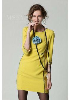 New Fashion Temperament Round Neck Short Dress