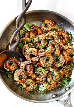 Best Ever Greek Chicken Marinade - Carlsbad Cravings Lime Shrimp Recipes, Cilantro Lime Shrimp, Mexican Chicken Recipes, Seafood Recipes, Mexican Dishes, Fish Recipes, Dinner Recipes, Creamy Mushroom Chicken, Best Guacamole Recipe