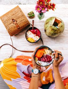 Nalu Bowls attached to Shelter Cafe in Seminyak