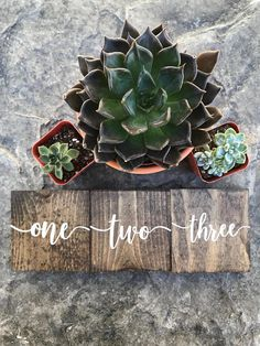 Wooden Table Numbers These wooden table numbers are the perfect addition to your rustic wedding decor! The table numbers can be made single or double sided. I have lots of stain options to choose from! To order a set of these table numbers, just set your quantity to the number of tables you will need numbered. Example: If you order 12 table numbers, you will receive a set of 12 wooden blocks numbered 1 through 12. Details: • Made with new pine wood • Measures approximately 3.5 x 3.5 •Both...
