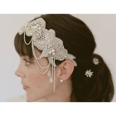 Wedding headpiece bridal headband bridal by EricaElizabethDesign, $325.00