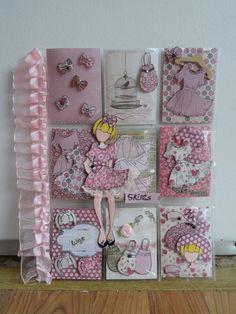 Pocket Letters ❤ Jullie Nutting Paper Doll