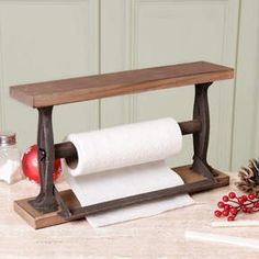 I've just found French Country Wooden Kitchen Roll Dispenser. A rustic, farmhouse themed kitchen roll dispenser. Perfect to bring country style to your kitchen! Country Kitchen Accessories, Home Accessories, Wooden Kitchen, Rustic Kitchen, Rustic Farmhouse, Rustic French, French Country, Country Style, Kitchen Design Open