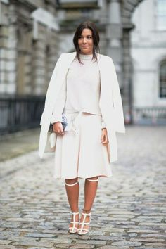 Street Chic London Fashion Week Spring 2014 - London Week Street Style - Elle