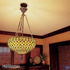 change a drab room into a dazzling one with a new overhead light fixture. here's how to mount that new fixture correctly and safely using professional installation techniques.  even if you've never tackled an electrical project before, you can install a ceiling fixture by following the diy advice and photos in this story.