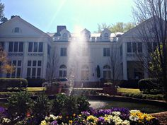 Visit the historic Duke Mansion when you travel by train to Charlotte, NC!
