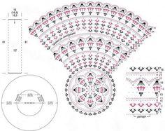 Wonderful Photographs Crochet cardigan scheme Thoughts Crochet Sweater: Crochet Cardigan For Women – Circular Cardigan Crochet Doily Diagram, Crochet Chart, Crochet Motif, Crochet Stitches, Free Crochet, Crochet Patterns, Gilet Crochet, Crochet Cardigan Pattern, Crochet Jacket