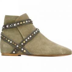 Isabel Marant - Women's 'Ruben' Studded Boots