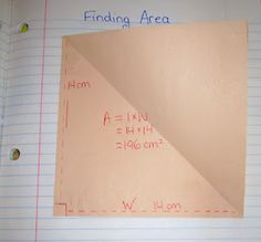 activity to make perimeter & area make sense!