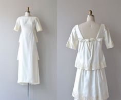 St. Aubin wedding gown | vintage 1960s wedding dress | 60s wedding dress