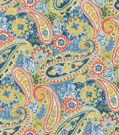 Home Decor Print Fabric-Pkaufmann Breeze Patriot at Joann.com