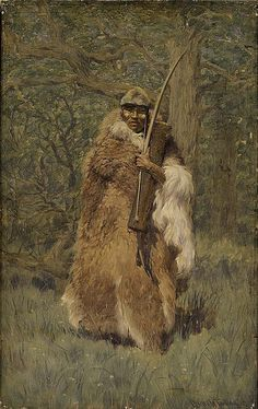 Native American Charles Wellington Furlong Aanakin by griffinlb, via Flickr