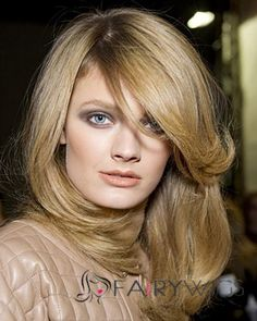 Every girl will not miss the blowout hair looks if she has long hair. Blowout hair can be created by you at home. After you get your hair washed, you can style the hair. Best Human Hair Wigs, Remy Hair Wigs, Ombre Hair, Cheap Real Hair Wigs, Wispy Hair, Best Hair Dryer, Runway Hair, Lace Front, Blowout Hair