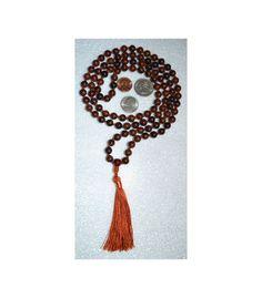 108 Obsidian Mahogany Hand Knotted Mala Beads Necklace Bless   eBay