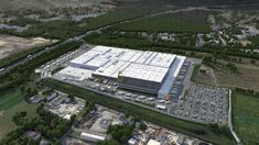 German Grocery Giant EDEKA chooses WITRON for new DC EDEKA, the largest German food retailer is going to build its fifth logistics center using WITRON Order Picking Warehouse Layout, Supply Chain, The Expanse, Layout Design, City Photo, Industrial, Building, Room, Technology