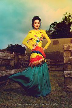 Costume: Kevin Cao  Photographer: Patric Seng   Makeup & hair: Elizabeth Canales-Ron & FaceMe Makeup   Digital & concept: Saya Design Studio  Model: Mania Moko     2012 © All Rights Reserved.  www.sayadesign.co.nz