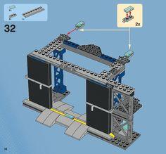 Lego instructions super heroes 6860 the batcave (book 2.