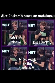 Oh, Alex...