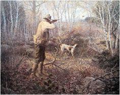 Afbeeldingsresultaat voor paintings art by john grouse Duck Hunting Boat, Bow Hunting Deer, Hunting Art, Hunting Dogs, Quail Hunting, Pheasant Hunting, Wildlife Paintings, Wildlife Art, Grouse Hunting