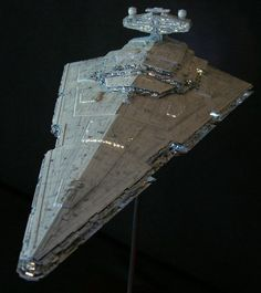 mpc Plastic Modelkit Imperial Star Destroyer by ROKUGEN