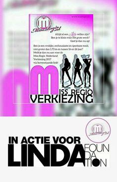 MELD U AAN VOOR MISS 2017!!!!  Miss-Regio Nederland non-profit organisatie  Het doel van Miss Regio Nederland is vrouwen de kracht geven om hun dromen in de modewereld waar te maken.http://www.bieduwbedrijfaan.nl/advertentie/miss-regio-nederland/