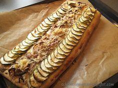 SchokoCupcakes: Gefüllter Zucchini-Fladen
