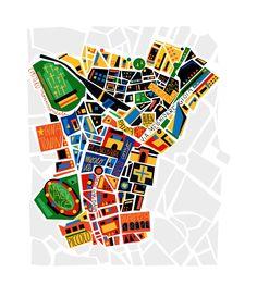 M<3 Milan map   illustration by Alberto Lot