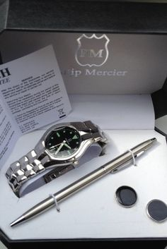 s philip stein chrono quartz stainless steel watch me philip on auction tonight from 8pm mens